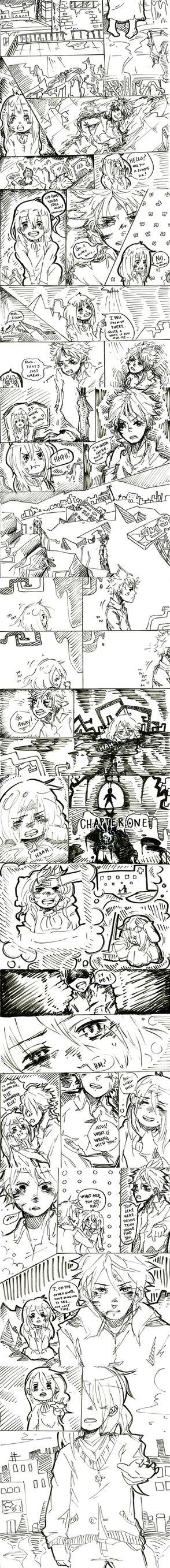 Sketch Comic by JubyPhonic
