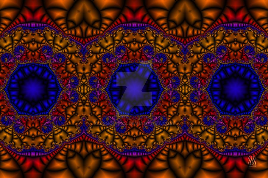 Moroccan Tile - Fractal Jewels Series