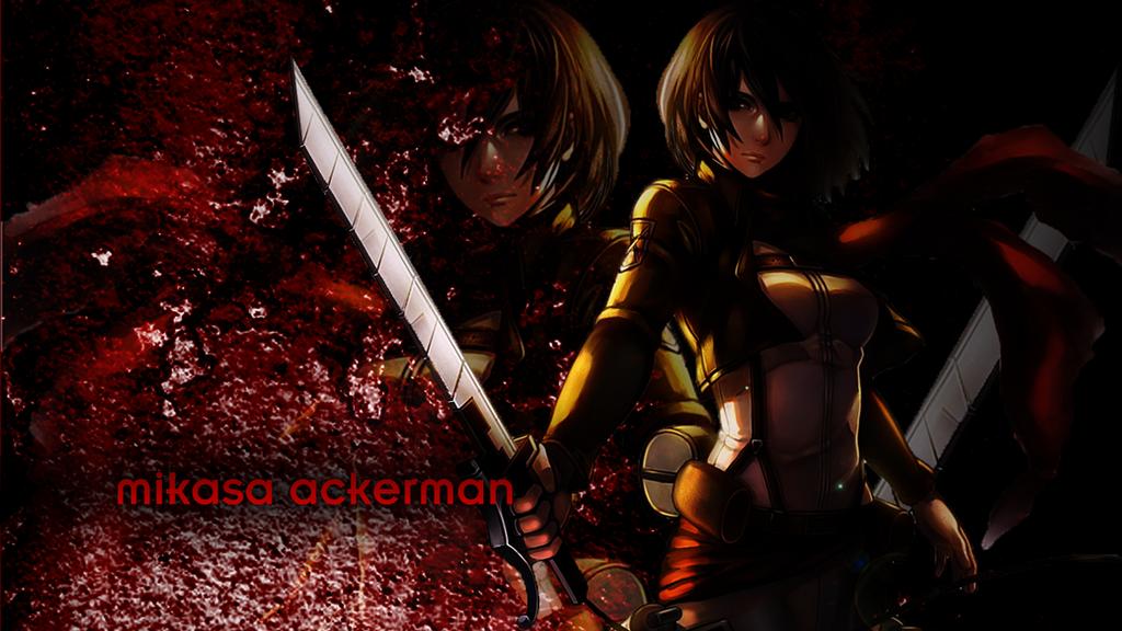 Attack on titan mikasa ackerman by chronos73 on deviantart attack on titan mikasa ackerman by chronos73 voltagebd Image collections