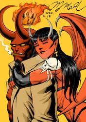 Hellboy Purgatori color