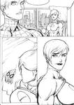 PG with Spidey mask page 1 ink ver by KyoungInKim