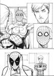 PG with Spidey mask page 4 ink ver
