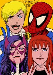 Marvel and DC friends Liechtenstein ver