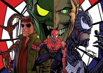 Spider-Man Trilogy Tribute by KyoungInKim