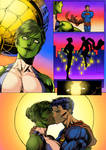 Commision-Superman and She-Hulk non dialogue ver. by KyoungInKim