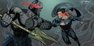 Snyder Cut tribute fanart color version