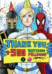 +500 Watchers/Followers celebration by KyoungInKim