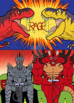 Sauron vs Diablo