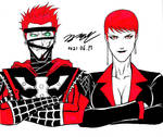 Red and Black by KyoungInKim