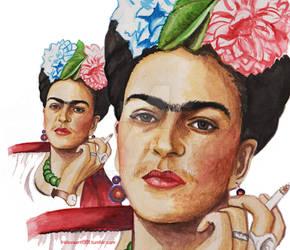 Frida Kahlo by FROLOVA