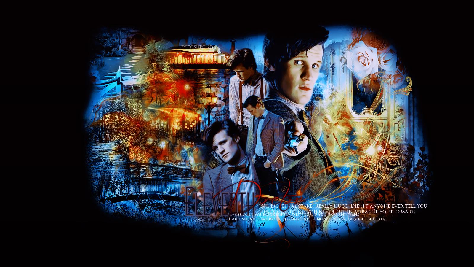 eleventh doctor wallpaper by toshpond on deviantart