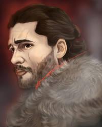 Jon Snow edited-2 by halarts
