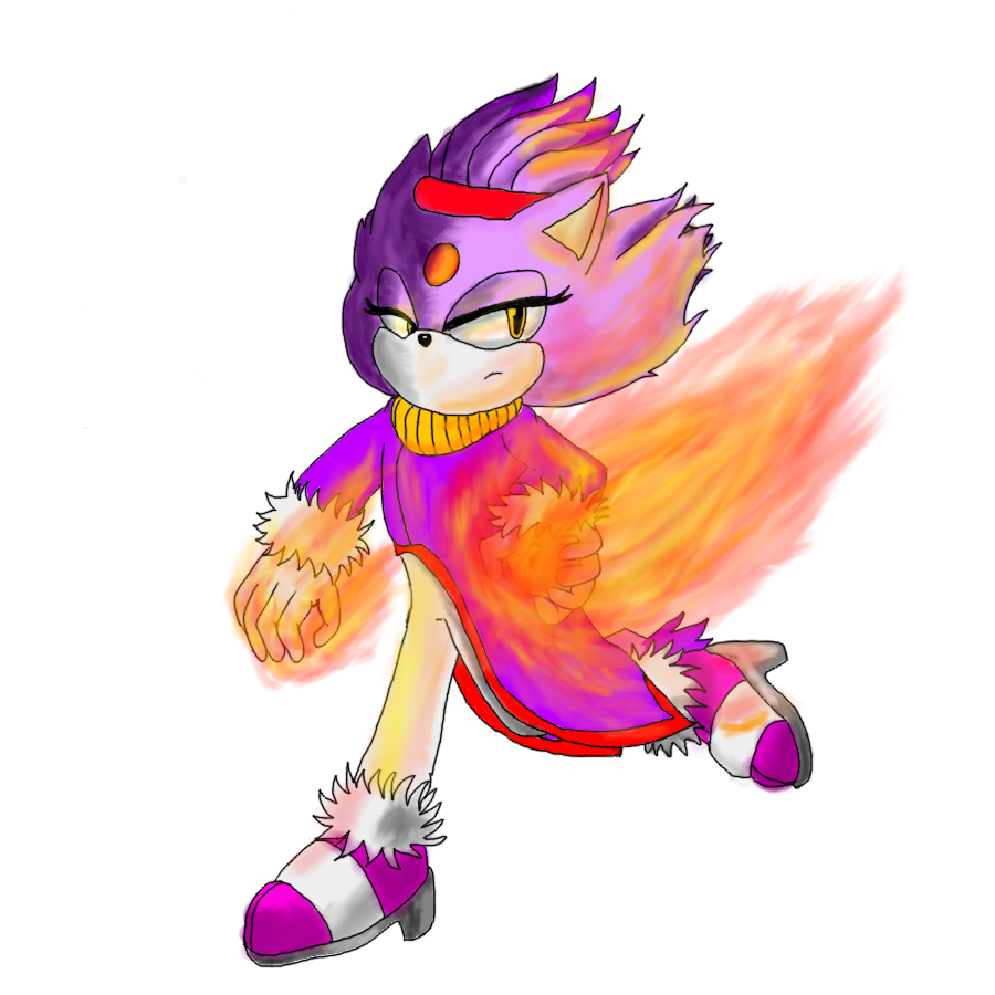 Blaze The Cat -CE- by Puple-Chaos