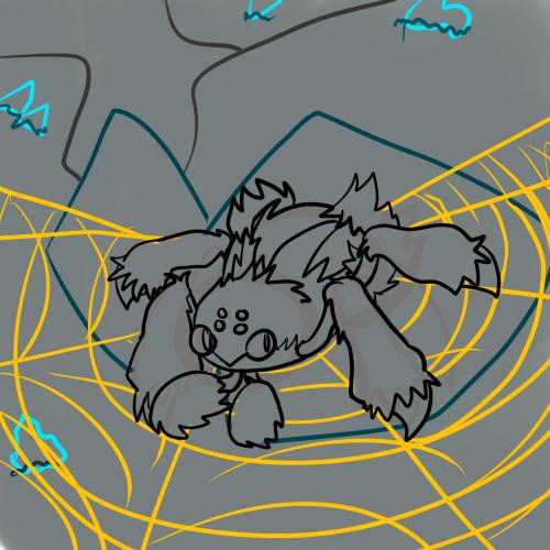 Galvantula sketchy sketchy by Puple-Chaos