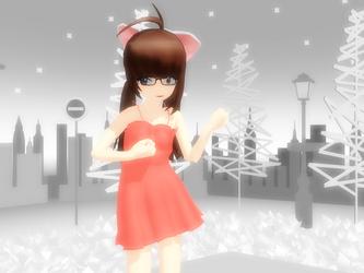 -MMD- My self model woo by AppledPie