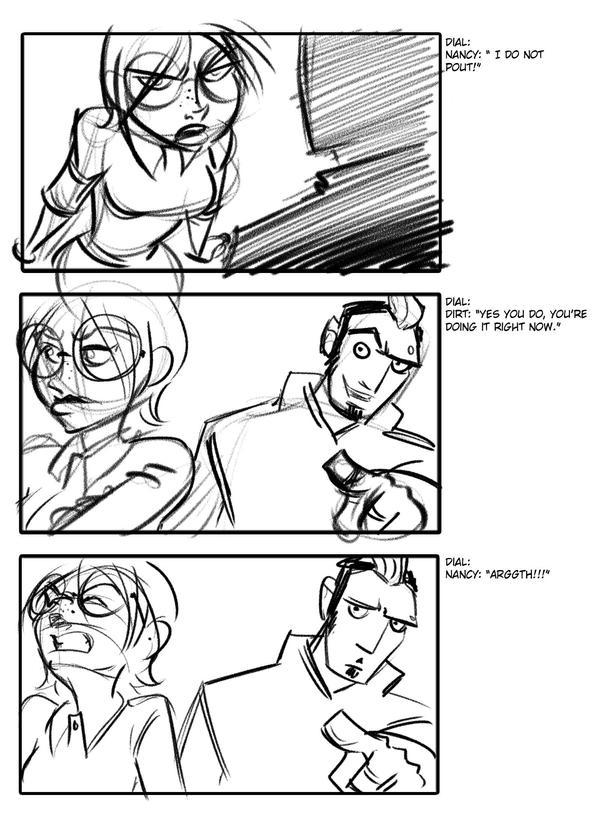 Frog Page 12 by msandborn