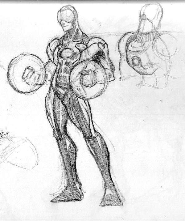 Heavy Metal Character Sketch By Msandborn On Deviantart