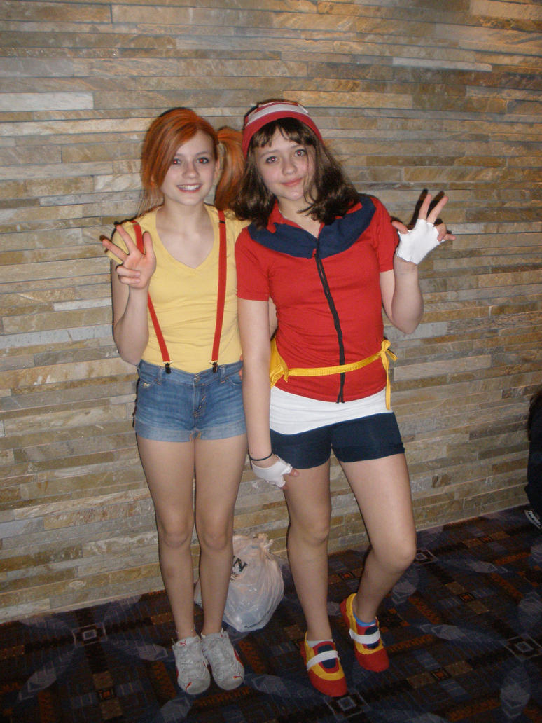 Pokemon Misty and May cosplay by rose134265 on DeviantArt
