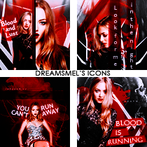 Amanda Seyfried Icons by dreamsmel