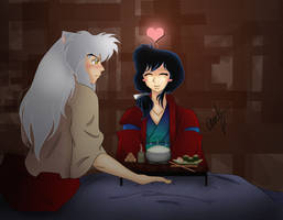 InuKag1: Eating for Two by InuKagomeluvrs