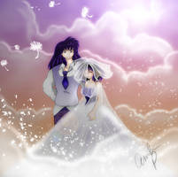 .+Just Married+. by InuKagomeluvrs