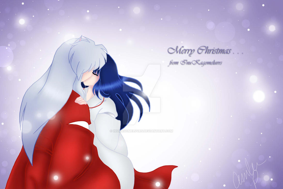 Merry Christmas+:. by InuKagomeluvrs on DeviantArt