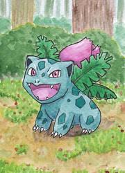 #29 Bisaknosp - Ivysaur