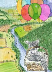 #30 Indy on tour - the balloon-basket
