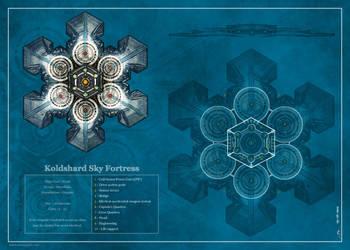 Koldshard Sky Fortress by Jaxilon