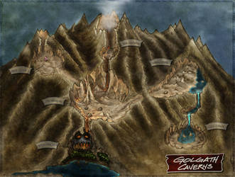 Golgath Caverns by Jaxilon