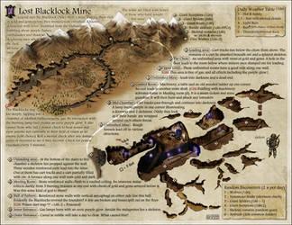 Lost Blacklock Mine by Jaxilon