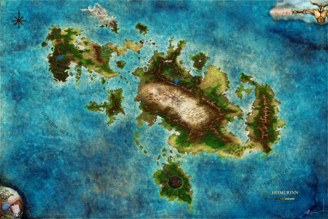 World of Heimurinn commission - by Jaxilon by Jaxilon