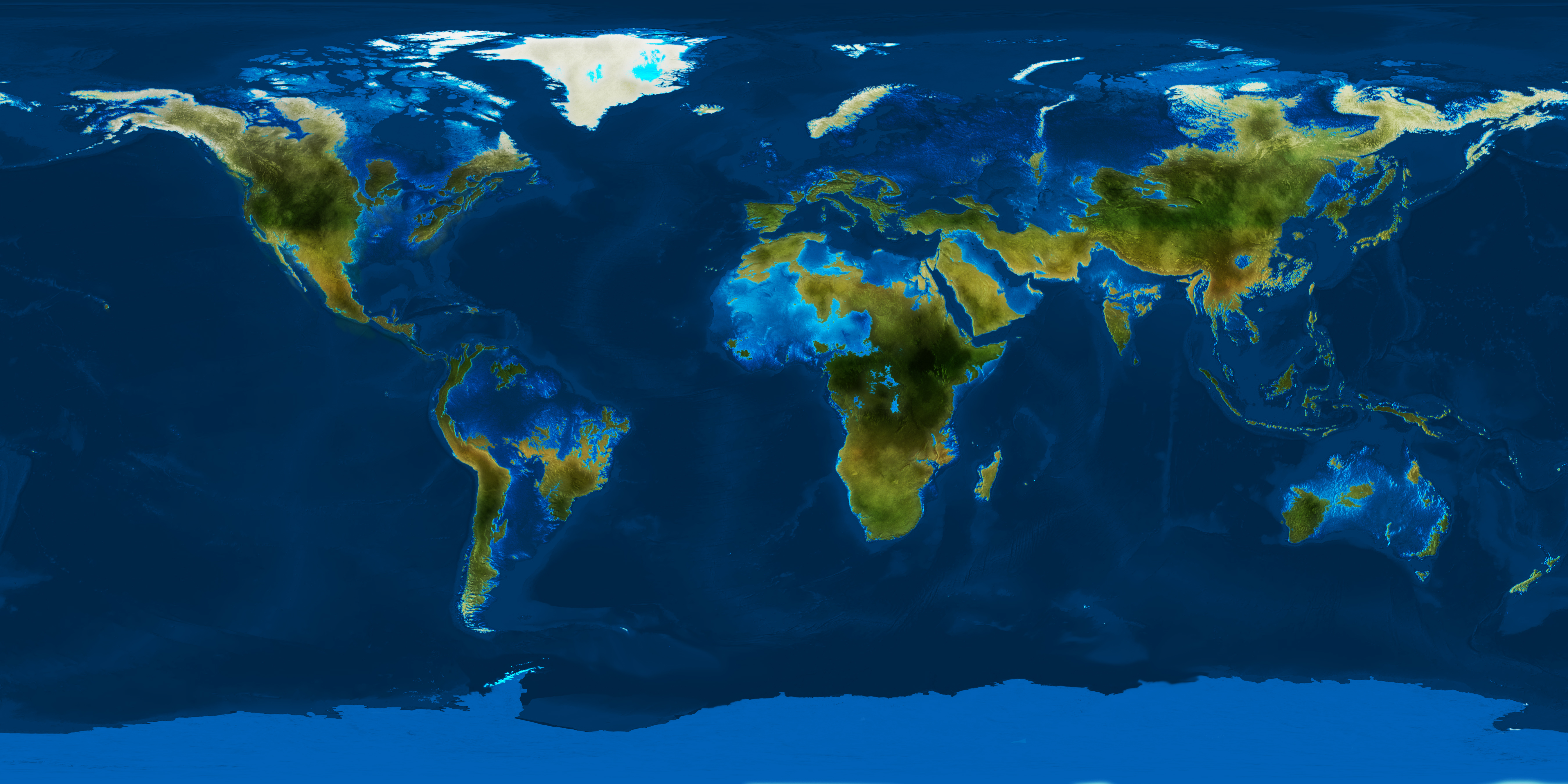 What will the continents look like in the future 10