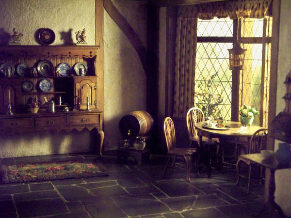 Interior of an old house ii by nkg stockpile on deviantart for Old home interior pictures