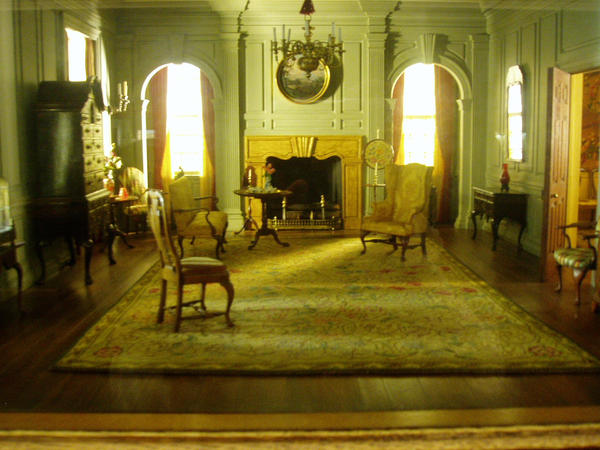Home Interior Old Man And Woman : Interior Of An Old House Vi By Nkg