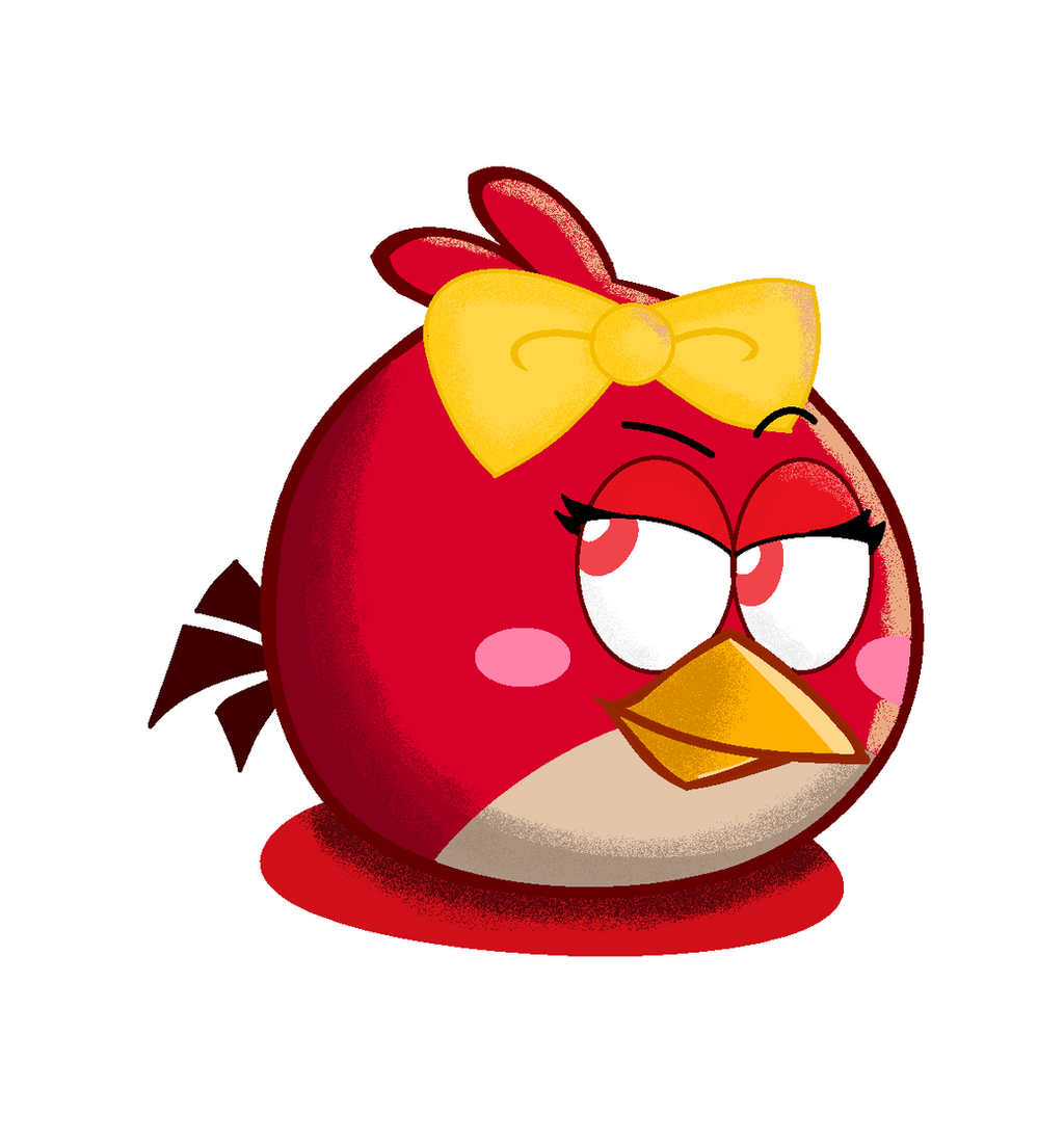 angry birds red female - photo #5