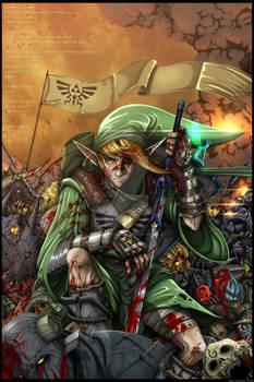 Link - The Legend of Zelda (Color complete)