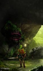 The Legend of Zelda Enemies Deku Baba by BradyGoldsmith