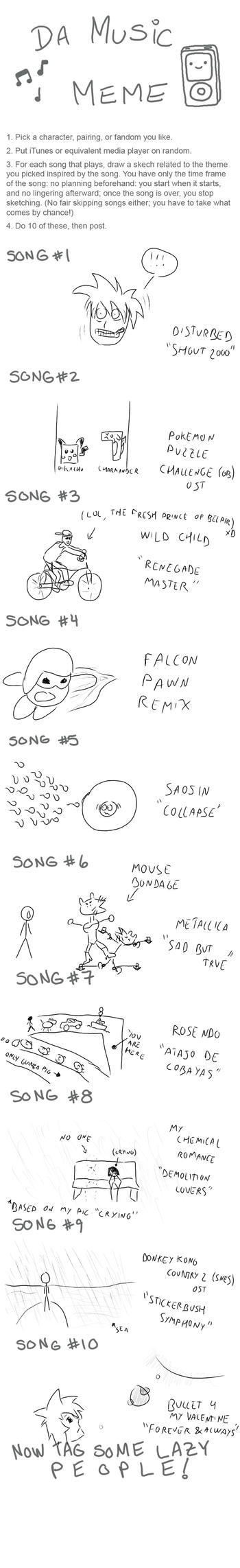 Music Meme preowned by zeldaneko
