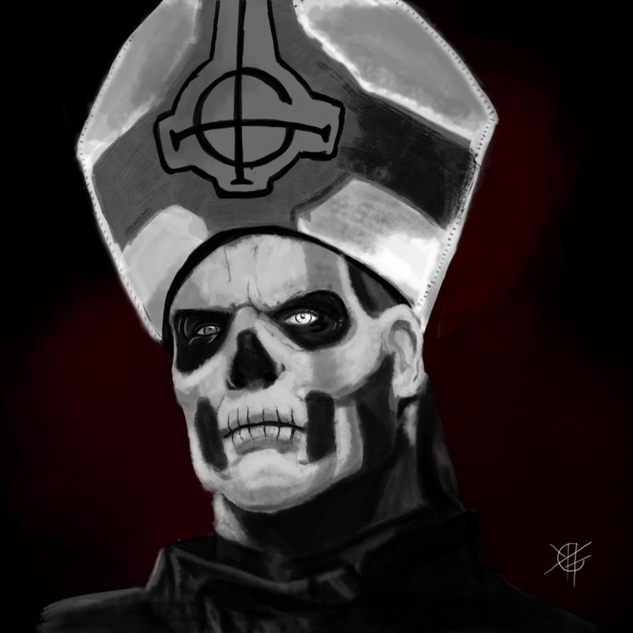 Papa Emeritus II by Fedegramajo