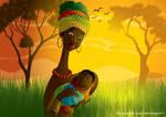African Mommy
