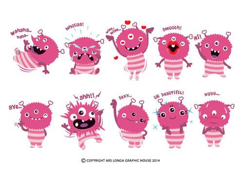 Pinky Monster