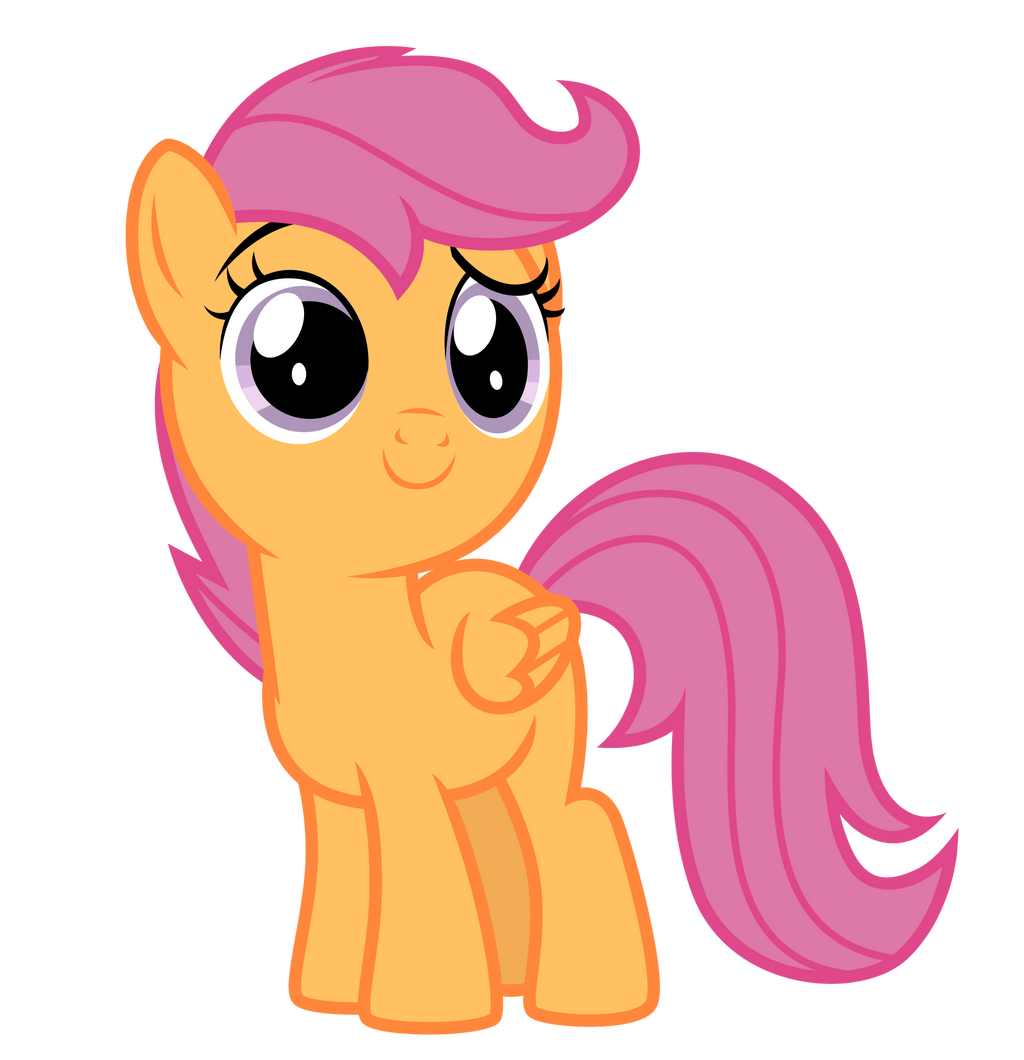 Vector  Scootaloo by E...