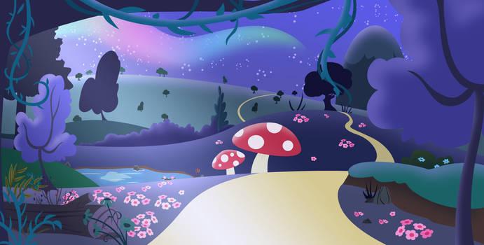 Background: Wonderland