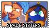 Stamp: Spade Sisters by EStories