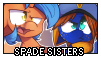 Stamp: Spade Sisters by EStories