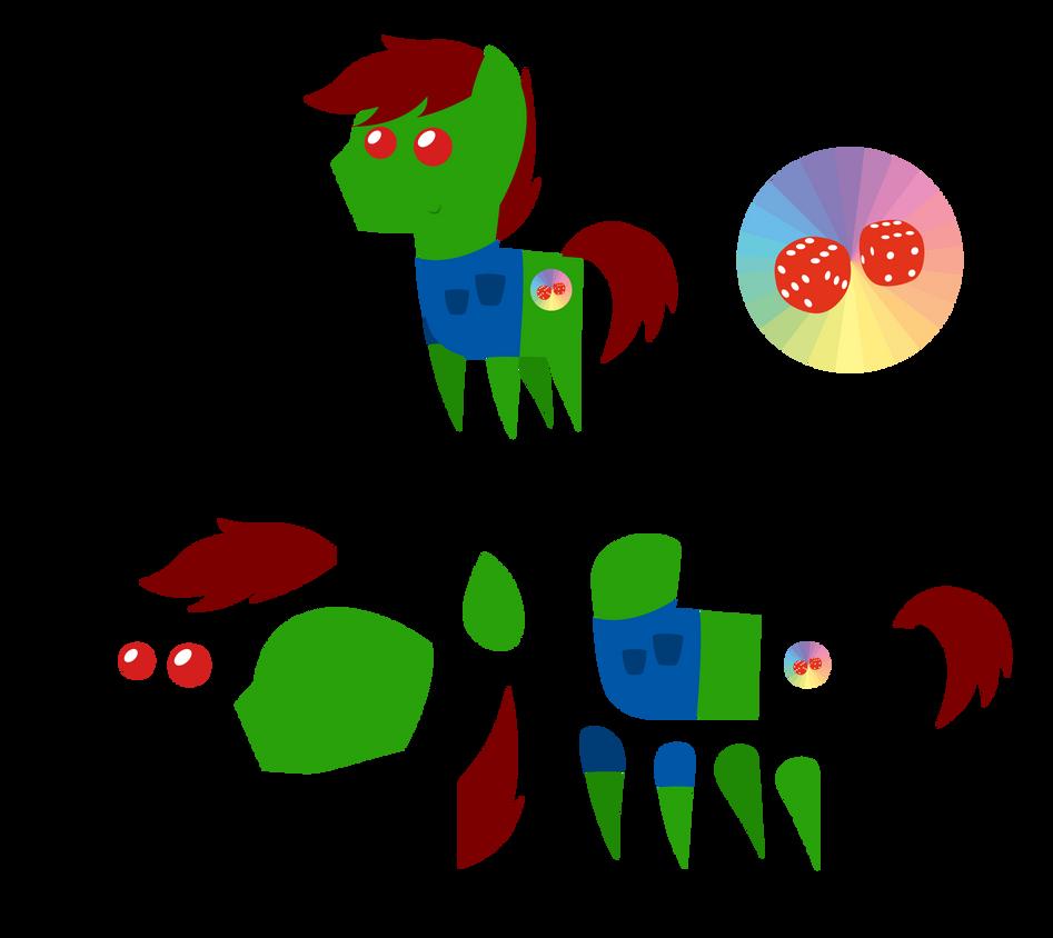 Pointy Ponies: Pastel Dice by EStories