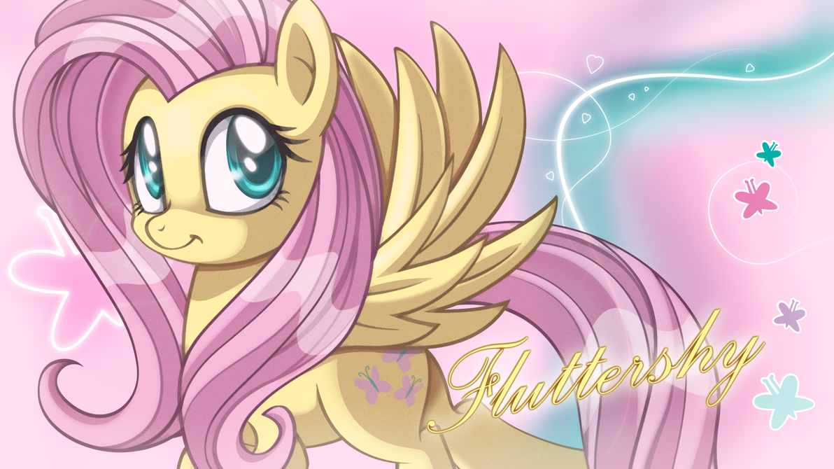 wallpaper fluttershy by estories on deviantart