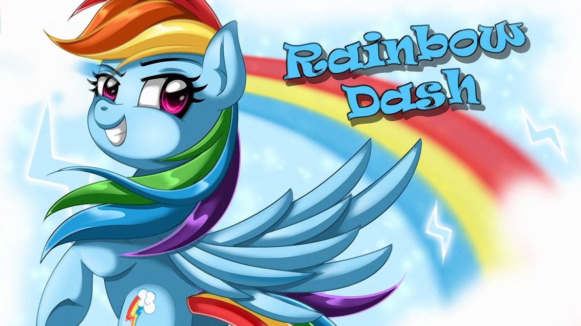 Wallpaper Rainbow Dash by EStories on DeviantArt