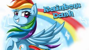 Wallpaper: Rainbow Dash by EStories